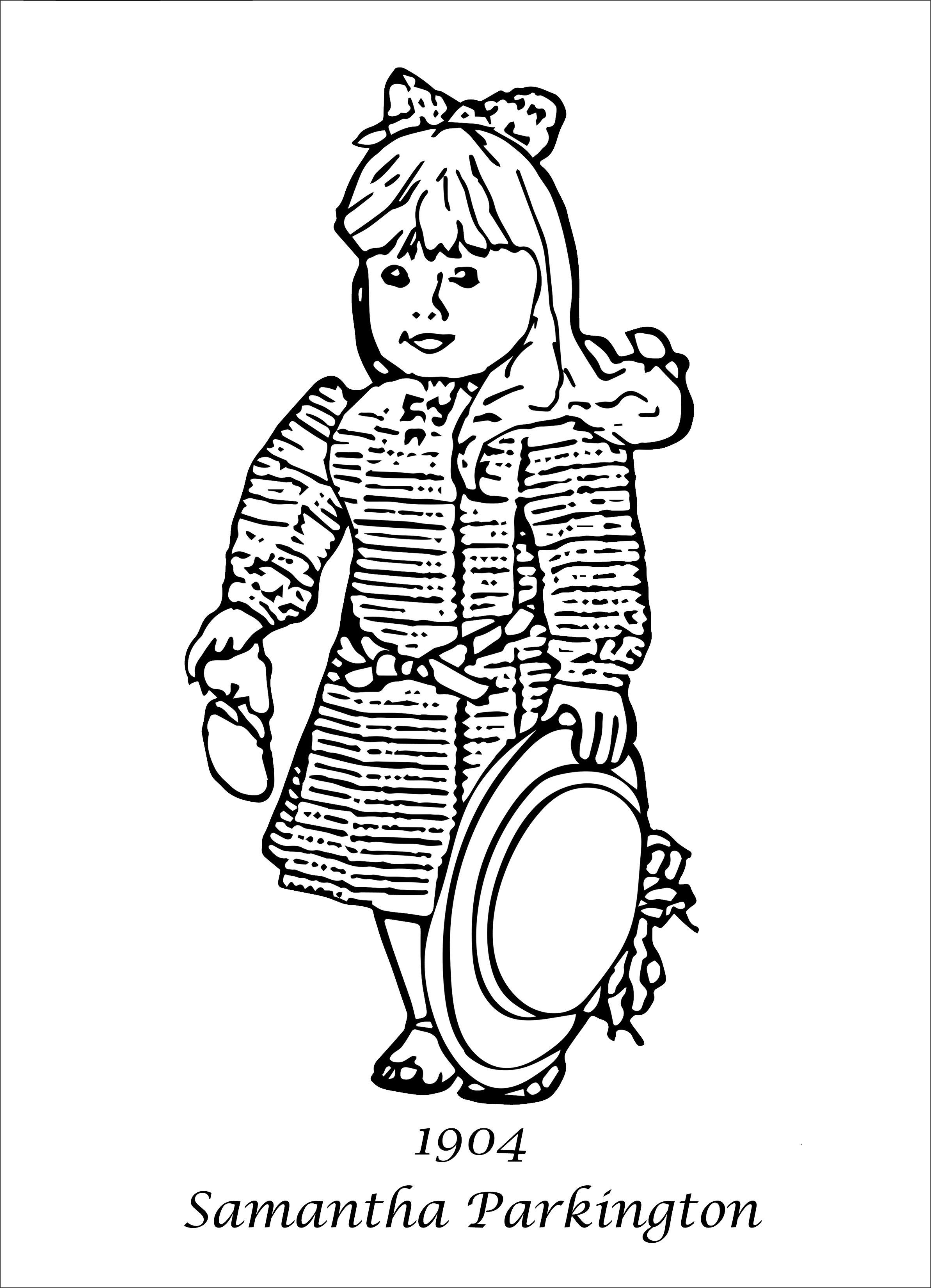 American Girl Coloring Pages Coloring Pages For Girls Coloring Pages American Girl