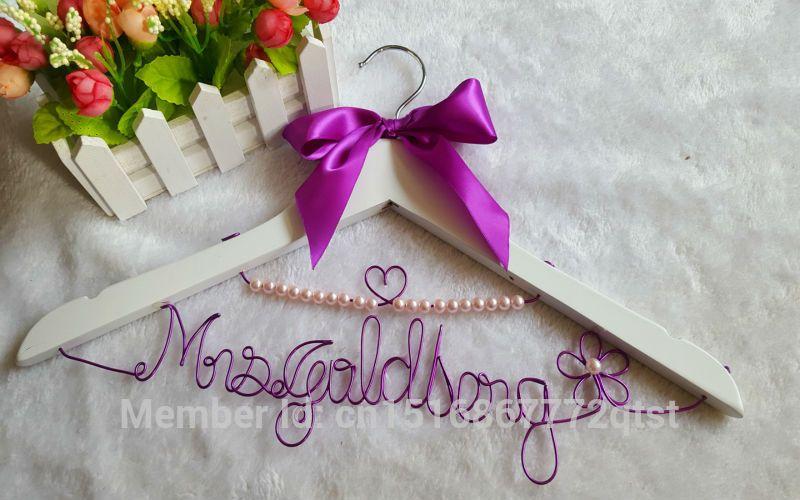 Personalization handmade name,bride bridesmaid dress real wood ...