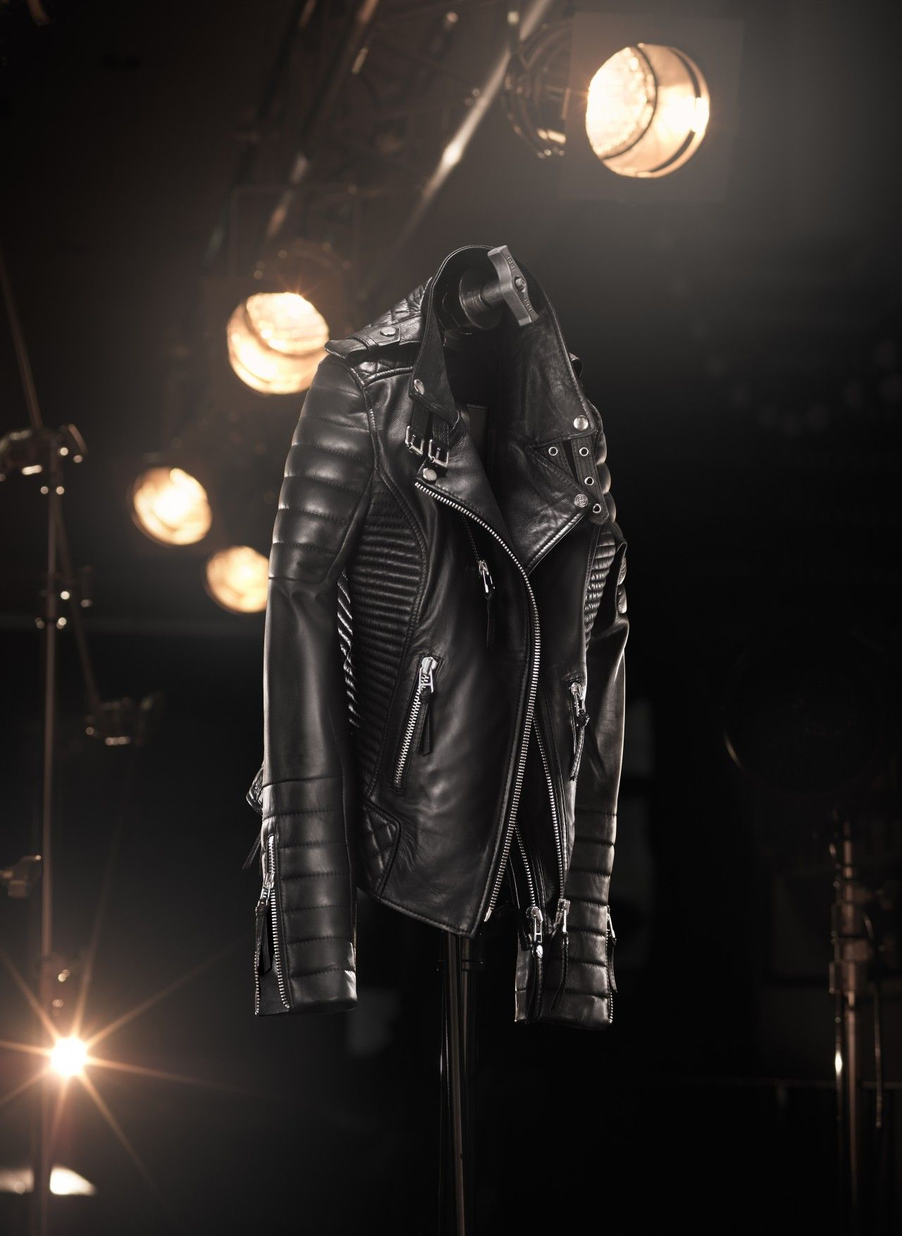 The 'Kay Michaels' Quilted Biker V.2 (Platinum Hardware) - 'Inspired by a true rock and roll soul, the Kay Michaels is legend among leathers'