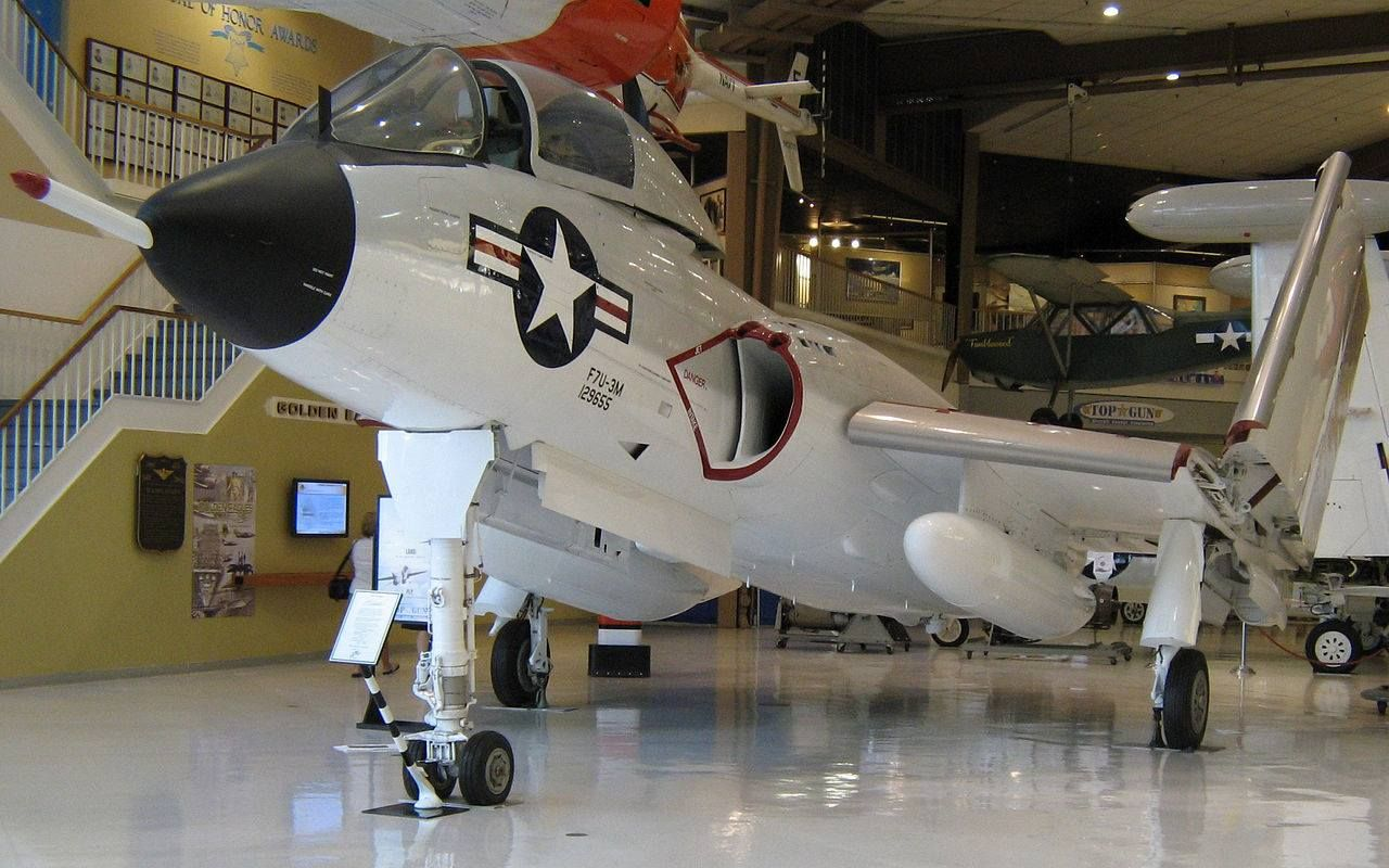 Vought F7U Cutlass 129655 National Museum of Naval