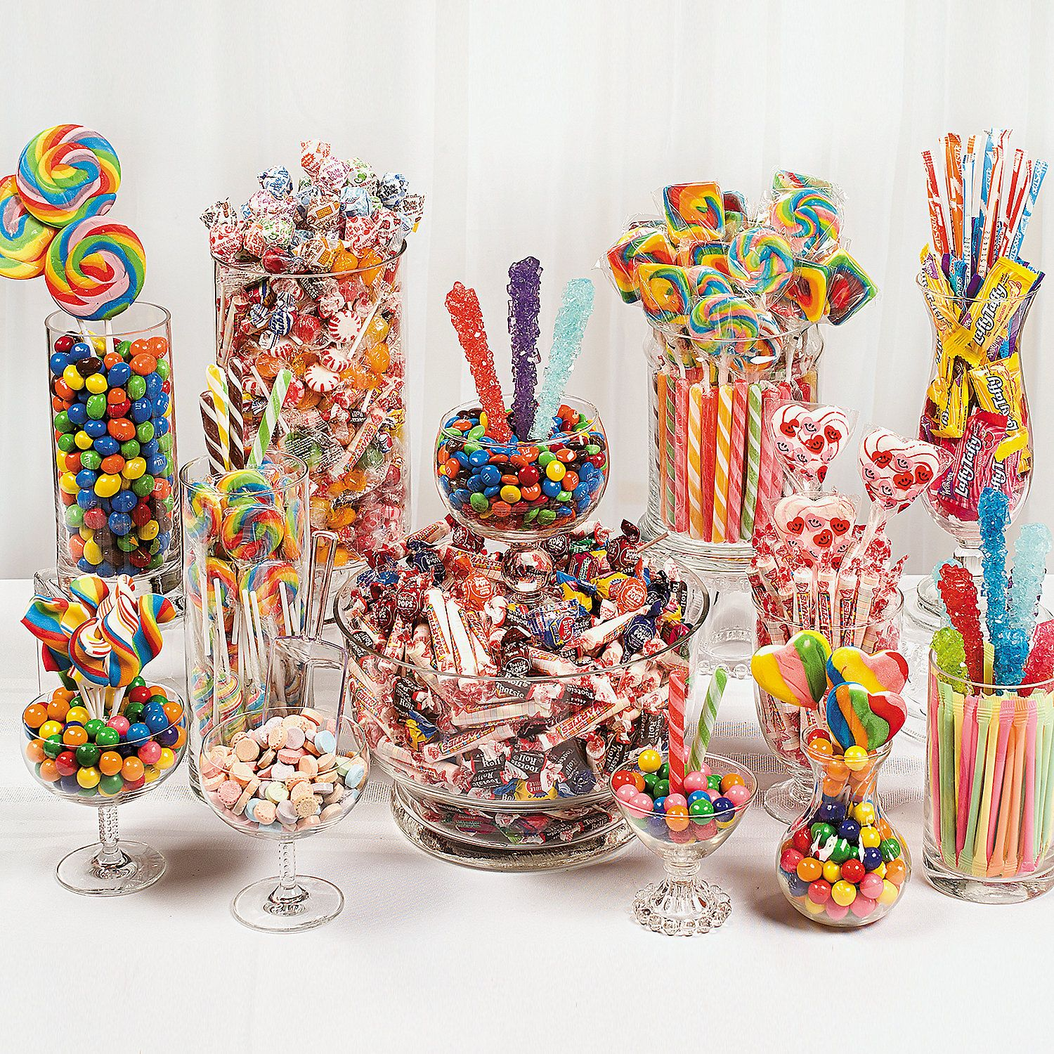 Colorful New Year's Eve Candy Buffet - OrientalTrading.com ...