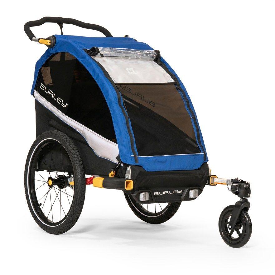 Burley D Lite Single Kids Bike Trailer Stroller Kids Bike Bike Double Strollers