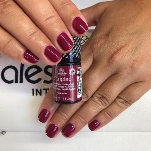 wine  soul nails   striplac striplac farben