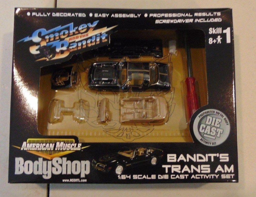 Ertl American Muscle Body Shop Smokey And The Bandit Trans Am 1 64 Ertl Dodge Smokey And The Bandit Bandit Trans Am Ertl