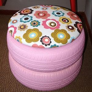 Diy Tyre Chairs Tire Chairs Tire Craft Tire Furniture