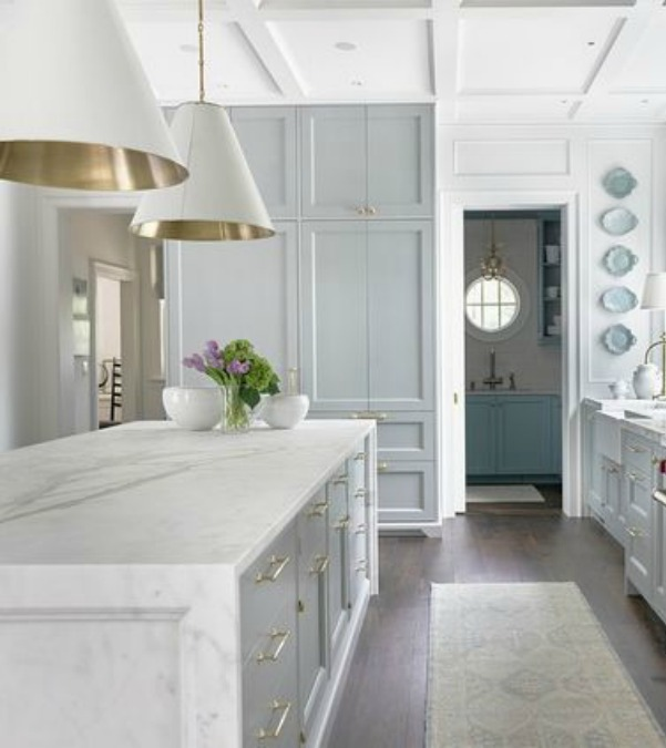Light Blue Farrow & Ball Paint Color: Tranquil Inspiration Now! - Hello Lovely