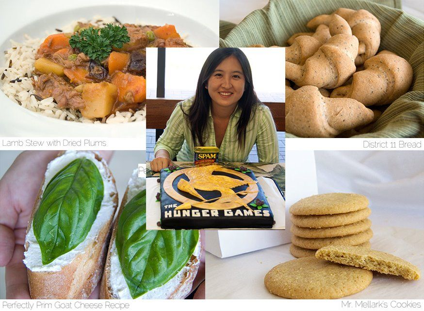 Fan of the week crystal watanabes recipes inspired by dishes from fan of the week crystal watanabes recipes inspired by dishes from the hunger games forumfinder Images