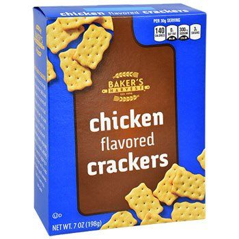 Baker S Harvest Chicken Flavored Baked Crackers 7 Oz