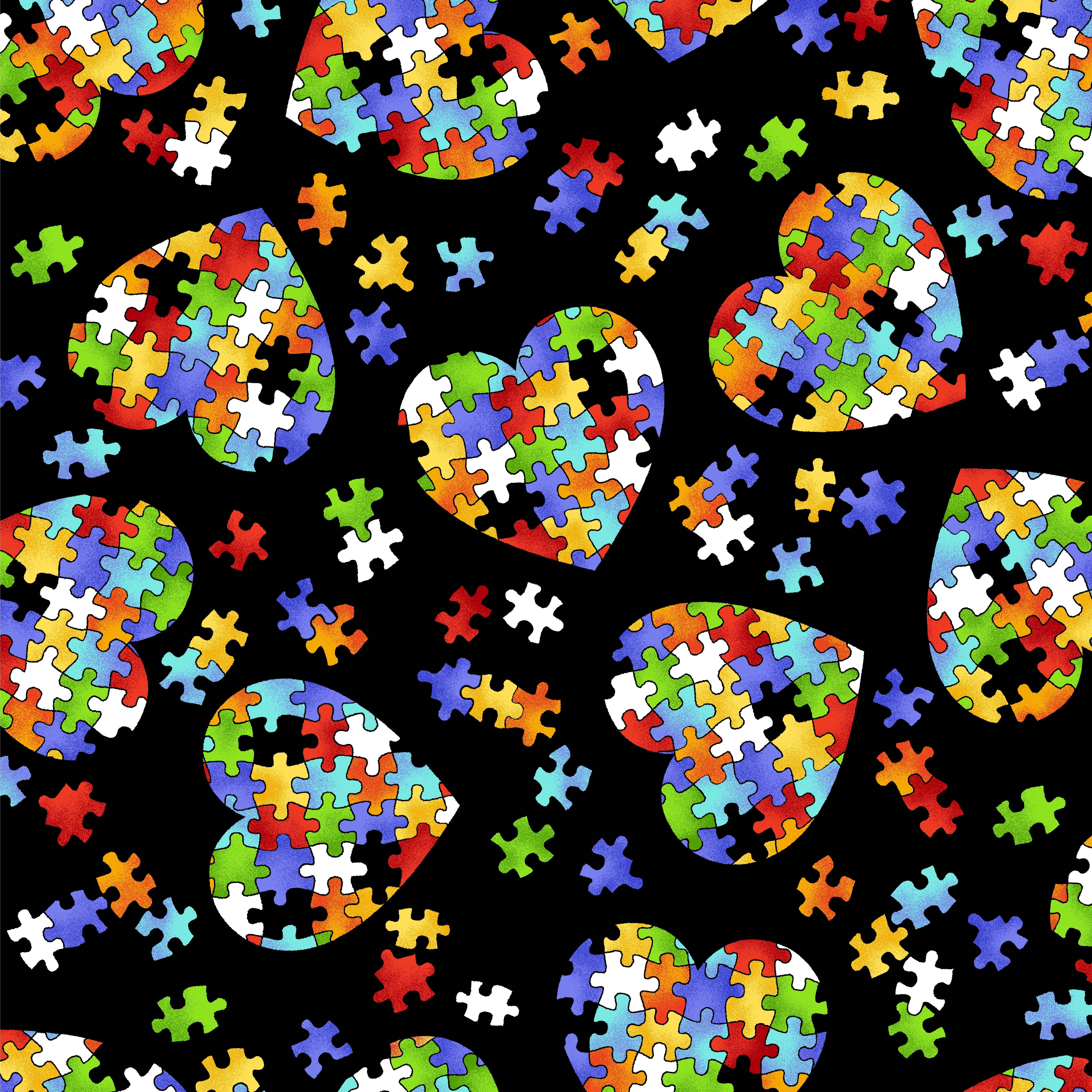 Anti pill fleece fabric puzzle piece heartanti pill fleece fabric