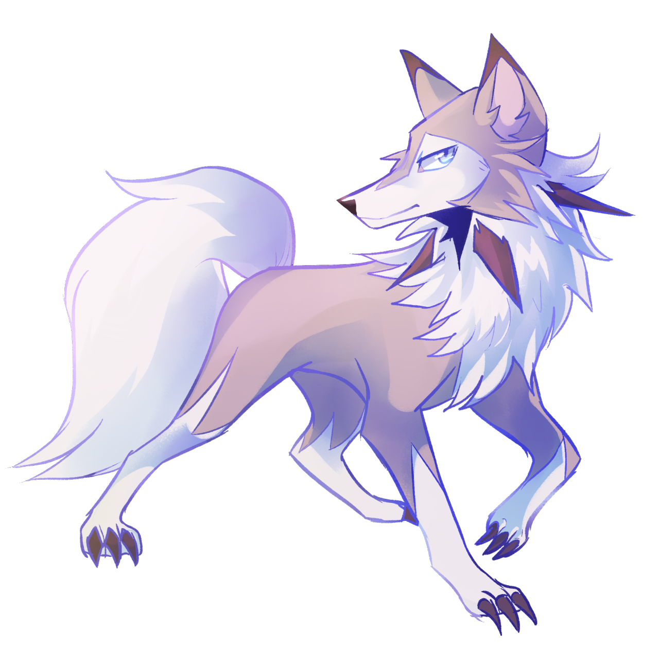 I still think this is the Pokemon form of Wolf Link Dog