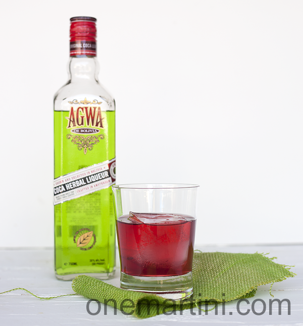 Cranberry Buzz: 1½ ounces vodka ½ ounce AGWA de Boliva 1 ounce cranberry