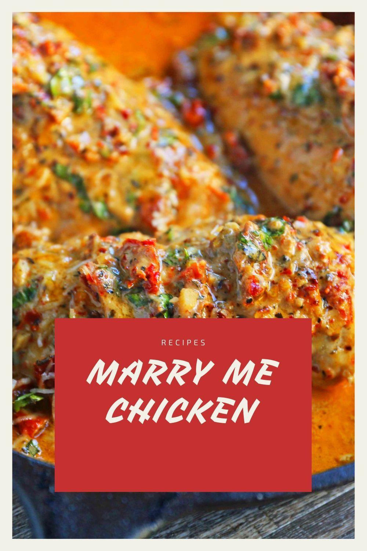 Marry Me Chicken In 2020 Recipes Chicken Recipes Braised Chicken Recipes