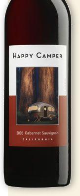 Happy Camper Cabernet Sauvignon...LOVE the label and it's a good cab too!