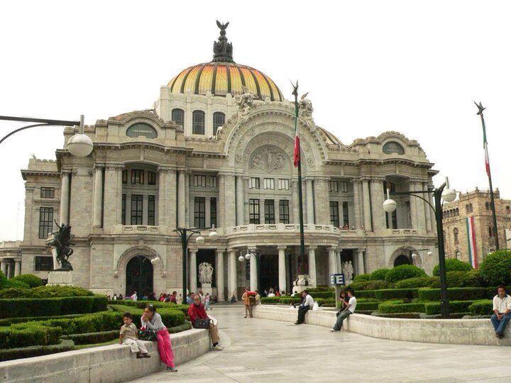 Palacio de Bellas Artes, Ciudad de México.