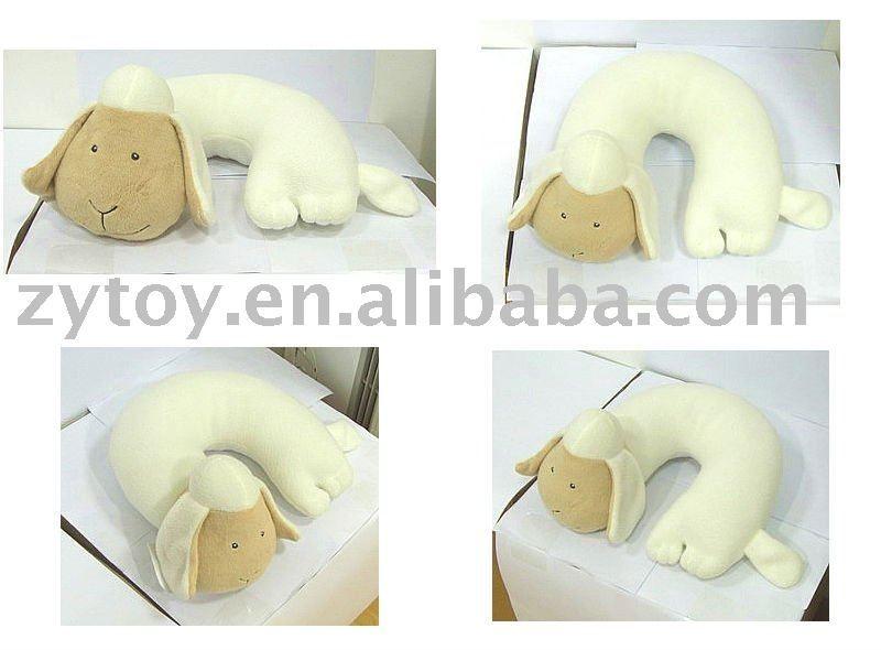 Sheep neck pillow | Almohada cervical | Pinterest | Almohadas para ...