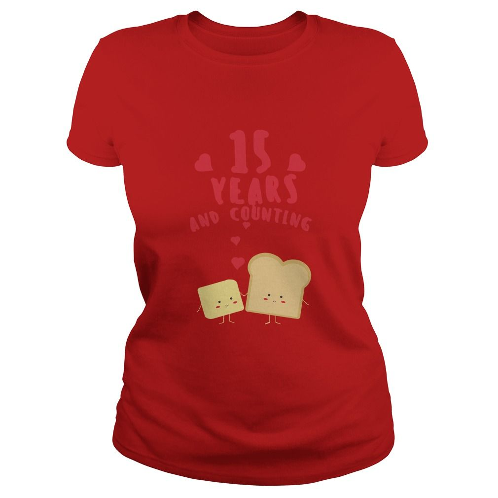 Awesome T Shirt For Husband And Wife 15th Wedding Anniversary Gift Ideas Popular Everything Videos Shop Animals Pets Architecture Art Cars