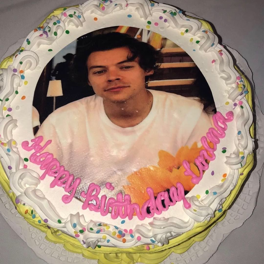 Excellent My Harry Styles Birthday Cake Harrystyles Birthday Funny Birthday Cards Online Aeocydamsfinfo