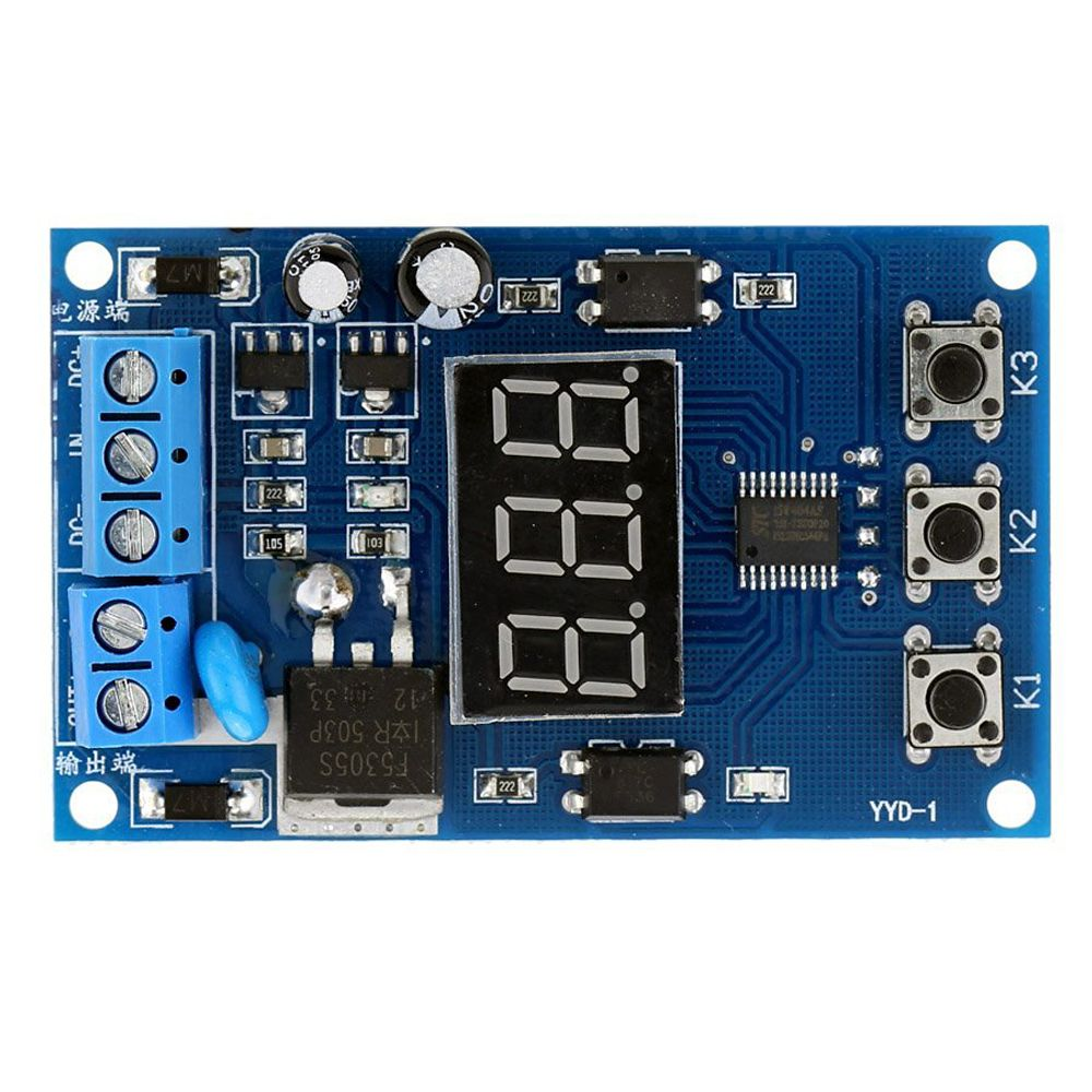 Multi Function Mos Control Relay Cycle Timer Module Delay Time Circuit Breaker Ebay Switch Dc 12 24v