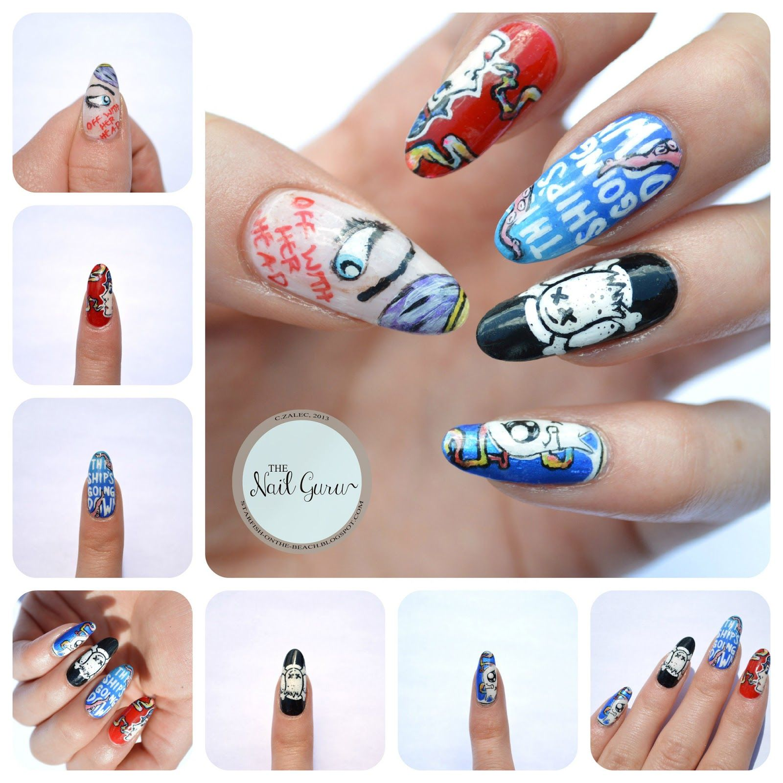 OMG! GHOST TOWN NAILS!! | Nails | Pinterest | Ghost towns