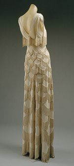 evening gown, 1938