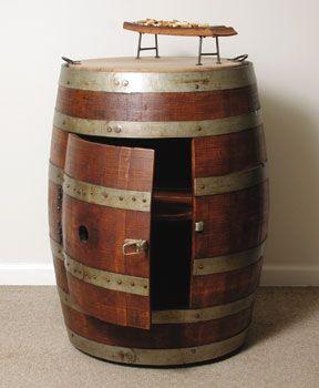 Must Have Wine Barrel Shelf Nightstand For Jason S Pirate