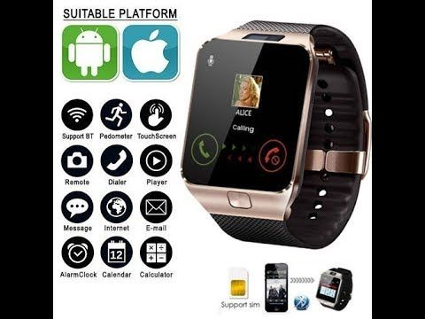 Smart Watch Dz09 Smartwatch Unboxing Video First Look Review Amazing