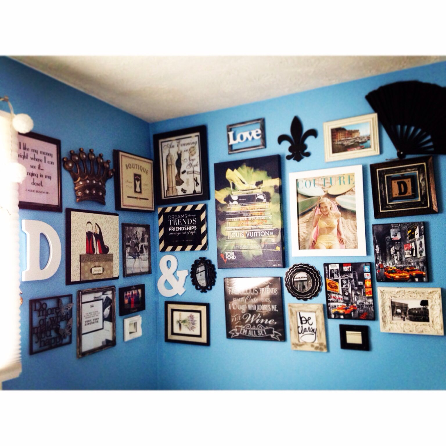 My bedroom frame collage just a simple home for two pinterest