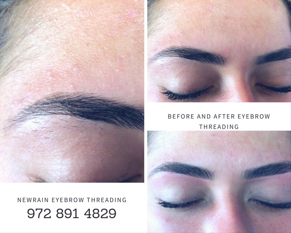 Eyebrow Threading Before and After | Threading eyebrows ...