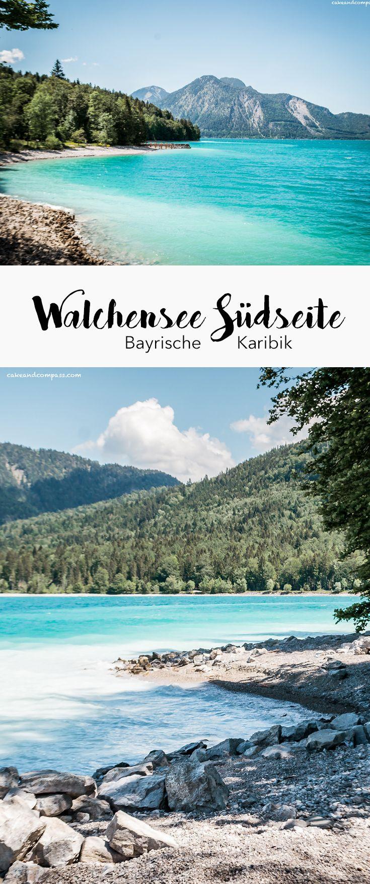 Walchensee Südseite