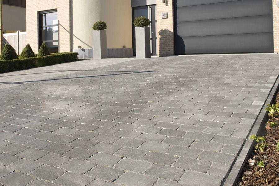 Pavé Stonehedge Marlux  un pavé en béton élégant au look de pavé - Pose De Carrelage Exterieur Sur Chape Beton