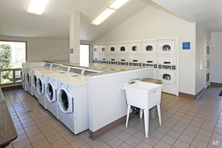 Laundry Room Apartment Building