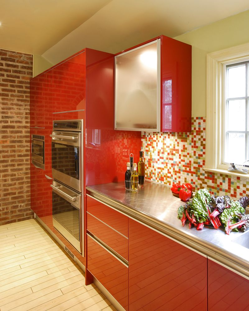High Gloss Lacquer Red Kitchen Red Kitchen Kitchen Kitchen Cabinets