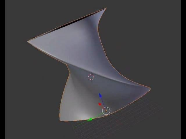 Tutorial Blender 3D 2.5 - Corso di base - 20: NURBS Surfaces; Skinning (rivestimento profili) - #BasiModellazioneEAnimazione #Blender #Blender3D25 #CorsoBlender #InterfacciaGrafica #LezioniBlender #Redbaron85 #Videotutorial http://wp.me/p7r4xK-cg