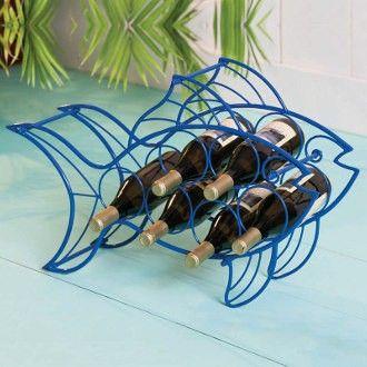 Fish wine rack