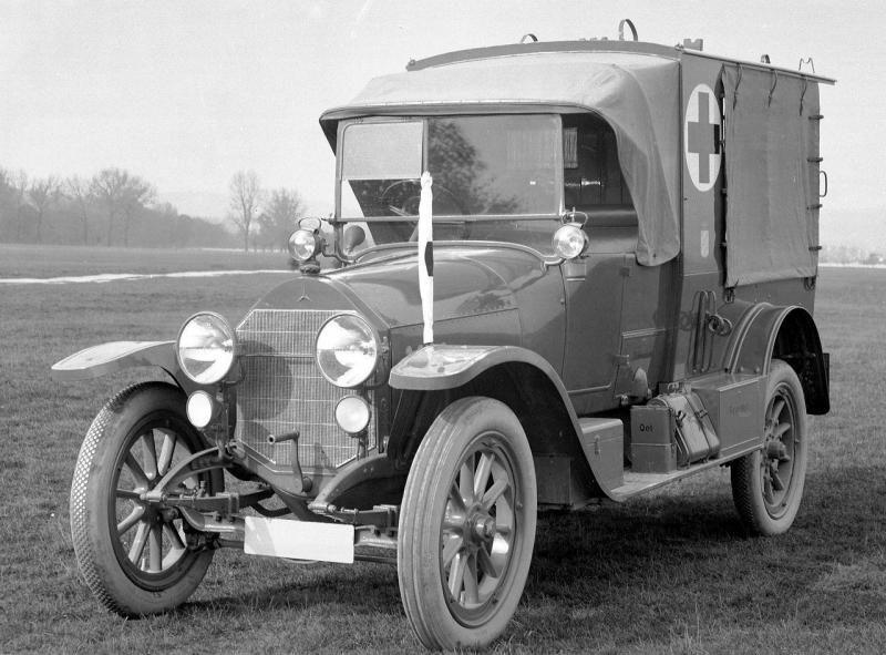 1914 Mercedes 12 32ps Feld Sanitatswagen Typ Uk Bayern 2 Jpg 800