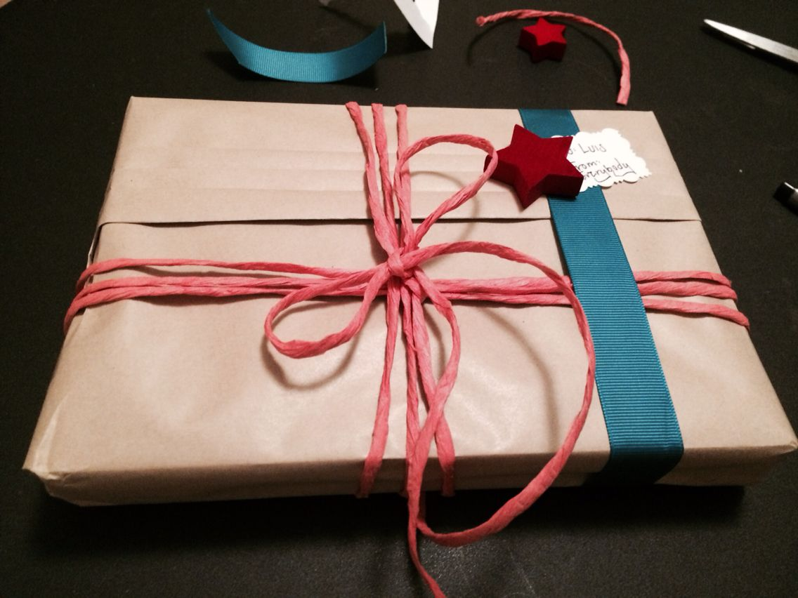 #giftwrap #christmas #diy #ribbon