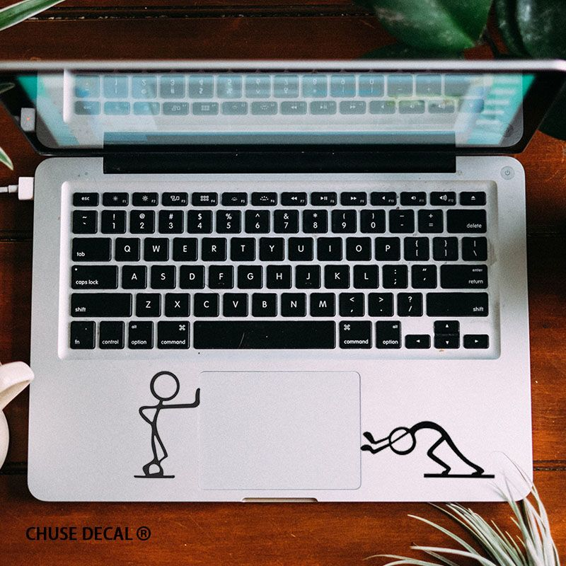 036 17 89free Shipping Funny Matchstick Men Notebook Touchpad Decal Laptop Trackpad Sticker For 11 Quo Laptop Decal Stickers Macbook Air Pro Laptop Decal