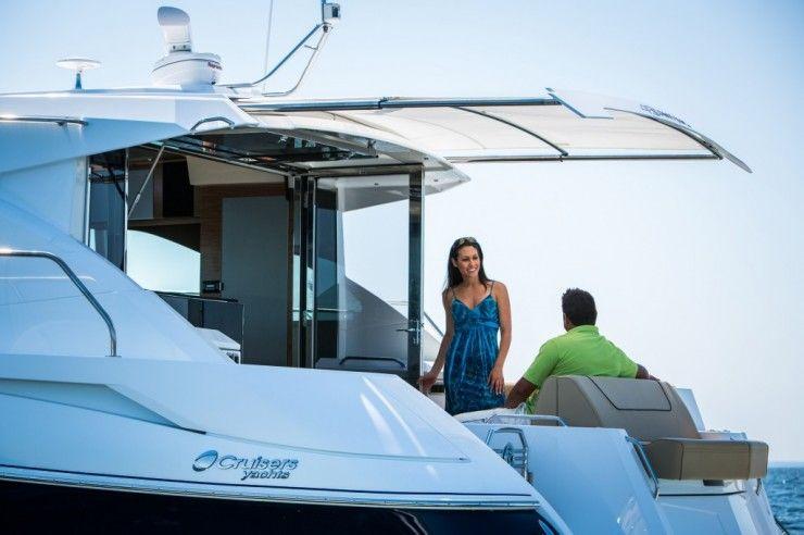 cruisers yachts 45 cantius | ñl | Cruiser boat, Motor Yacht