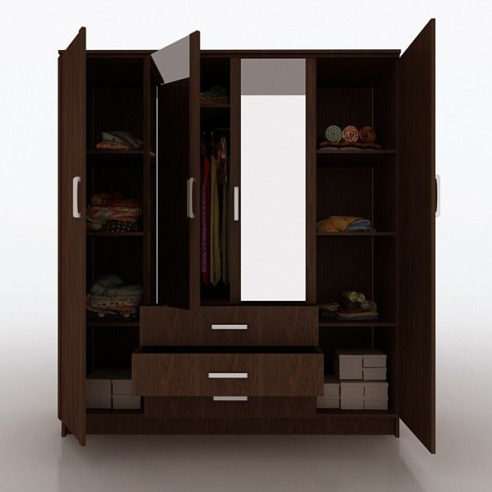 2 Door Cupboard Inside Designs 4-door-wardrobe | home_decoration | pinterest | wardrobes, doors