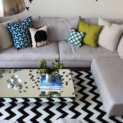 Boston Gray Couch Design, Pictures, Remodel, Decor and Ideas