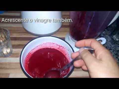 Como Fazer Tinta De Beterraba Organica Passo A Passo Youtube