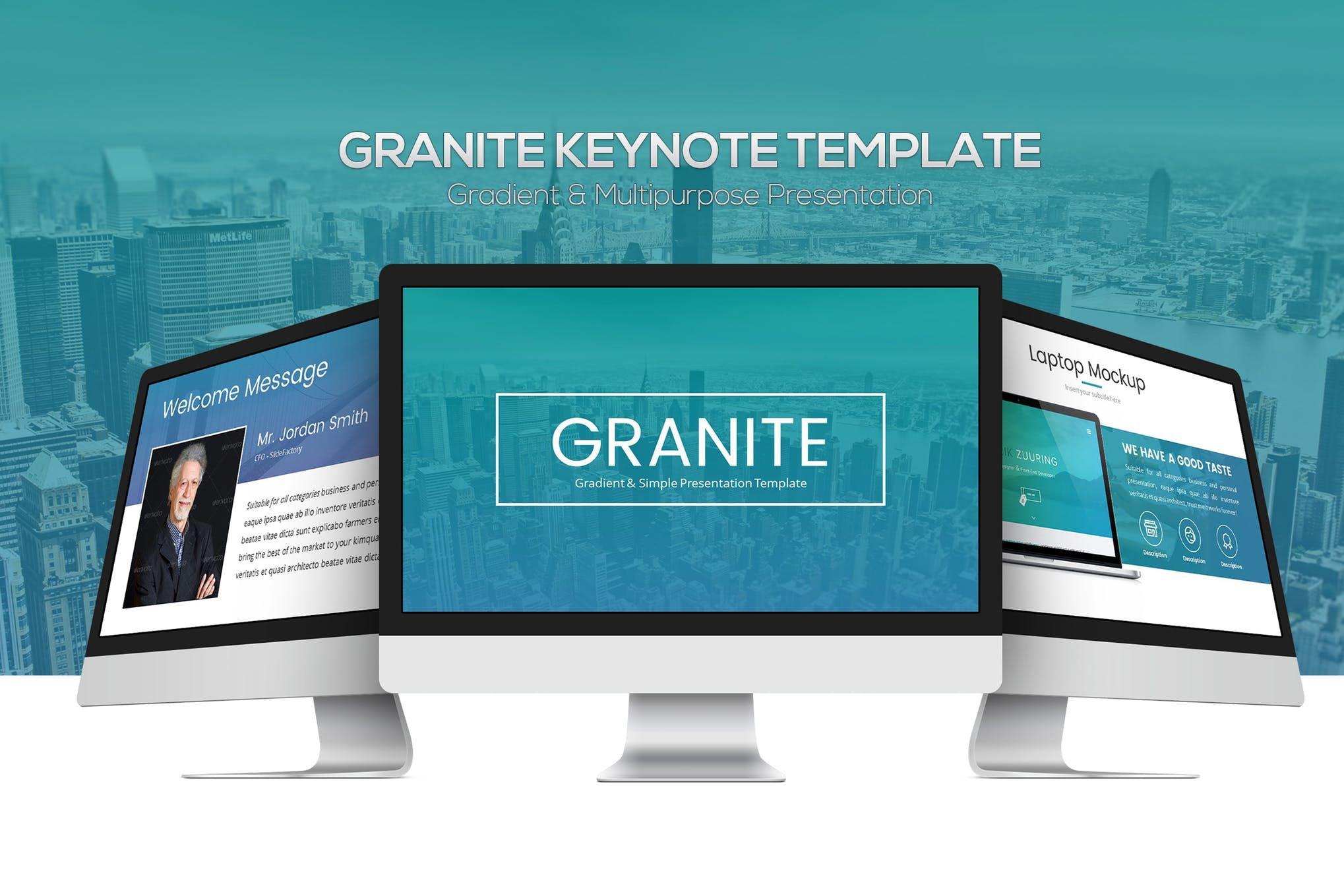 Granite keynote template apple keynote presentation template granite keynote template apple keynote presentation template theme toneelgroepblik Gallery