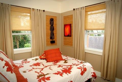 Curtains For Small Bedroom Windows Curtain Window Love This Idea Of Painting The Upper Part Walls White To Make