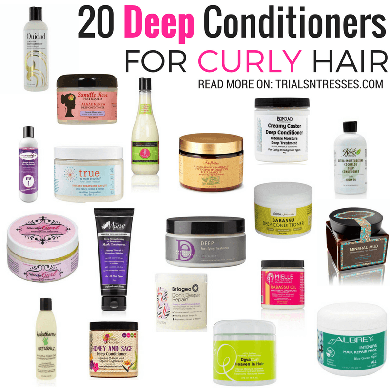 20 Best Deep Conditioners For Curly Hair In 2018 Natural Hair