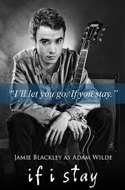 Adam Wilde from If I Stay and Where She Went by Gayle Forman. Be devoted like Adam.