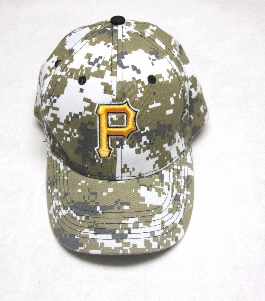 Cabelas Trucker Hat: Details About Pittsburgh Pirates Desert Camo Baseball Cap