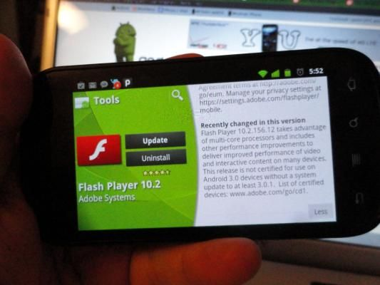 For your Android phone users, might have seen the design of an internet site which will play video or flash directly. so as for your Android device may do this, you initially have to be compelled to install the flash player application [...] | Source: trends.vellimarwan.com