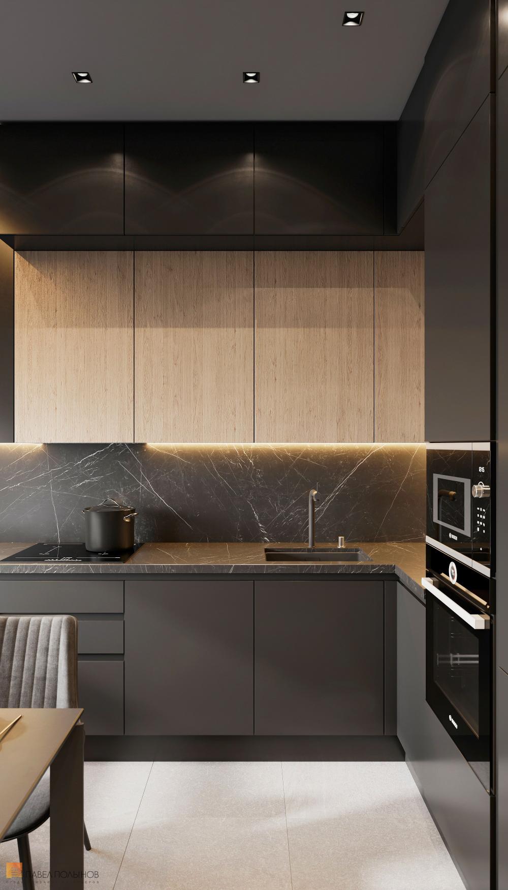 Фото: Дизайн кухни - Интерьер квартиры в современн