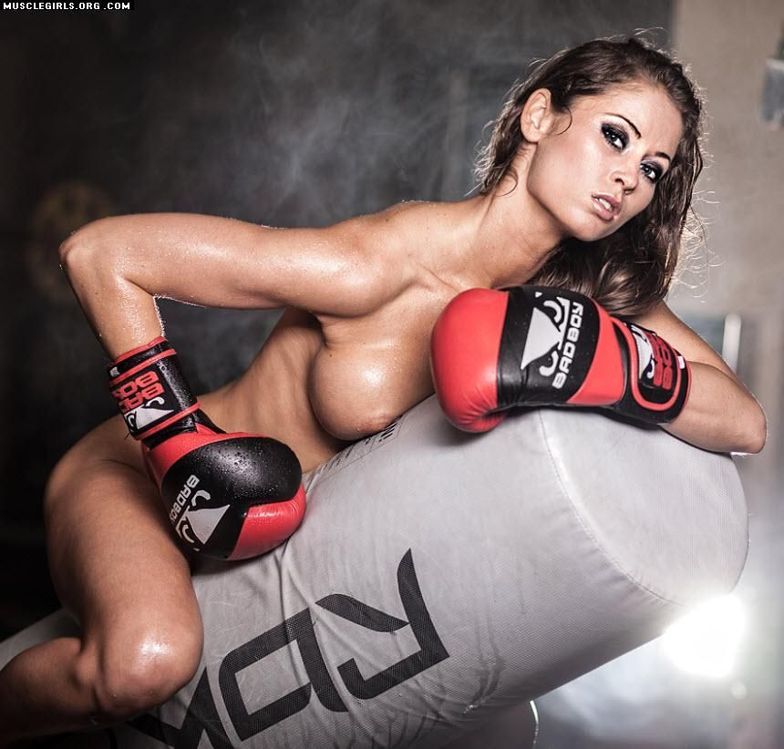 Nude Mma Fighter  Female Athletes  Pinterest  Fitness