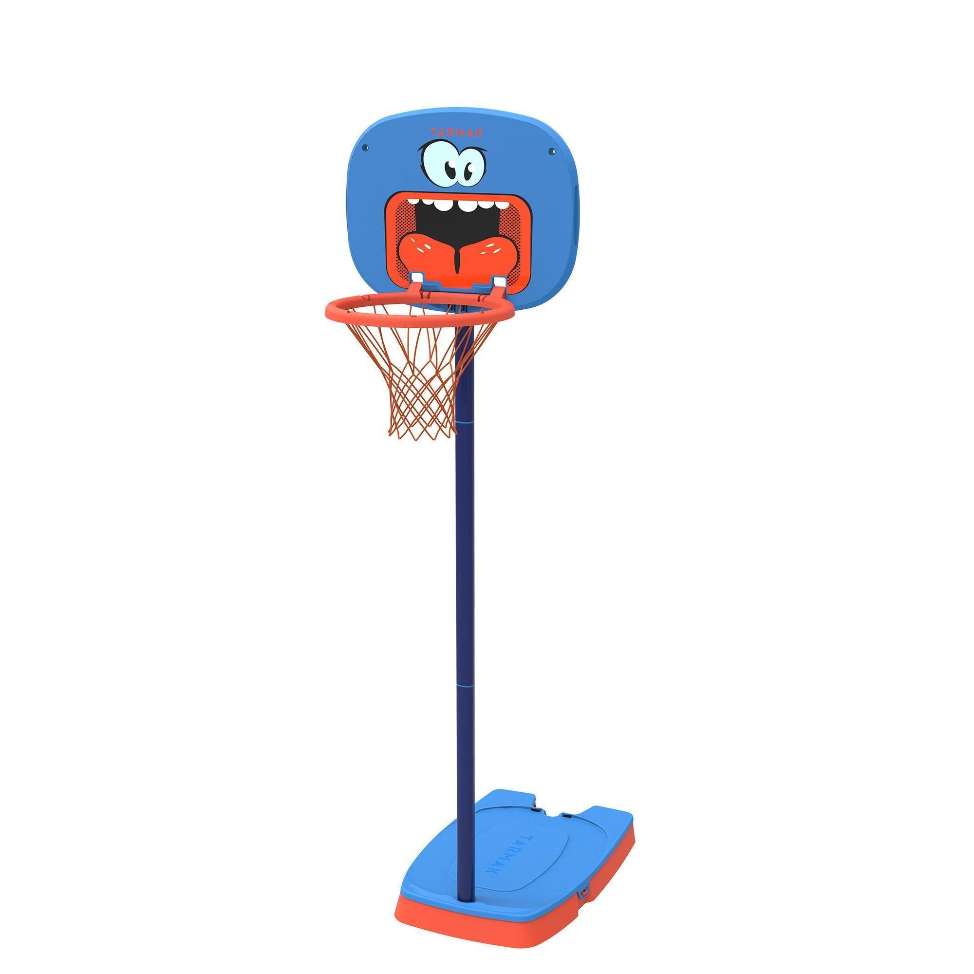 Decathlon Tarmak Ballkorb Bekleidung Jungen Kinder Kinder Mädchen Kinder Tarmak Basketballkorb K100 Monster K Basketballkorb Basketball Federball